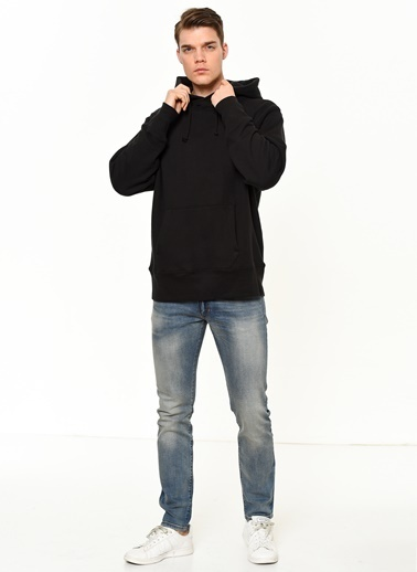 Vans Kapşonlu Sweatshirt Siyah